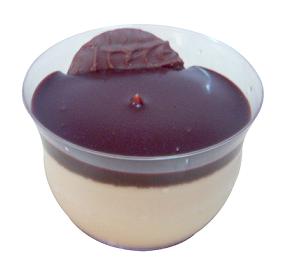 Delicioso mousse de torta holandesa para venda corporativa, estabelecimentos de vários segmentos, terceirização e padronização da produção