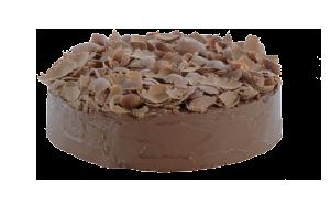Torta de chocolate para vendas corporativas, doces lindos, gostosos e terceirizados para maior rentabilidade e padronização da produção