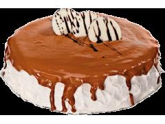 Torta doce de leite para vendas corporativas, doces lindos, gostosos e terceirizados para maior rentabilidade e padronização da produção