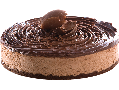 Torta de Ferrero para vendas corporativas, doces lindos, gostosos e terceirizados para maior rentabilidade e padronização da produção